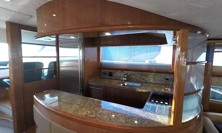 Discover Fort Lauderdale surroundings on this Princess Viking boat