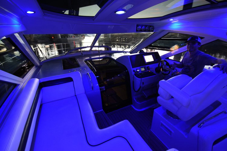 Motor yacht boat rental in Marina Bay Marina, FL
