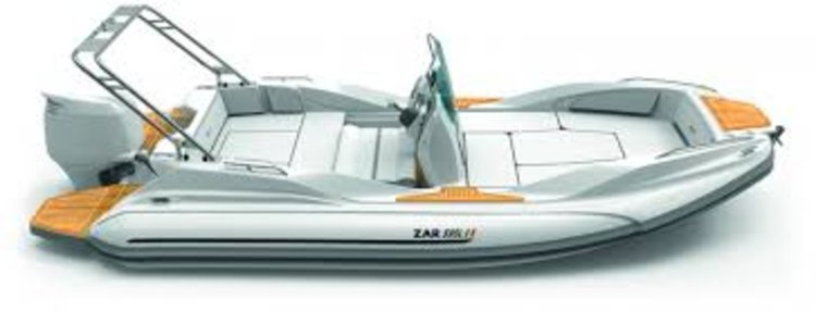 This 19.0' ZAR FORMENTI SRL cand take up to 6 passengers around Zadar region