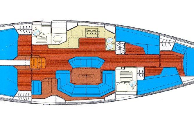 Monohull boat rental in Athens - Marina Alimos (Kalamaki), Greece