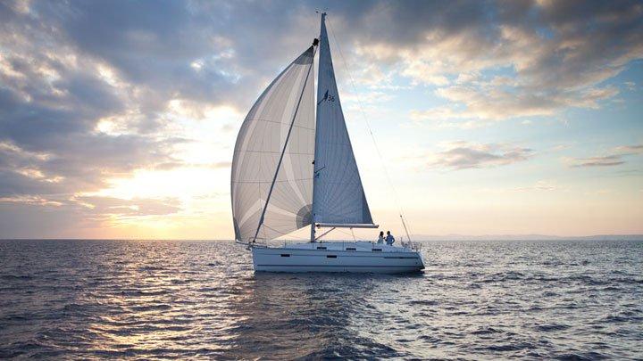 Discover Balearic Islands surroundings on this Bavaria Cruiser 36 Bavaria Yachtbau boat