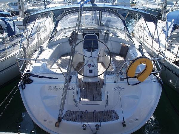 Hop aboard this amazing sailboat rental in Dodecanese!