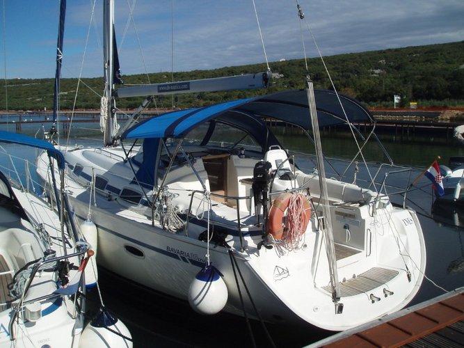 Bavaria Yachtbau boat for rent in Kvarner