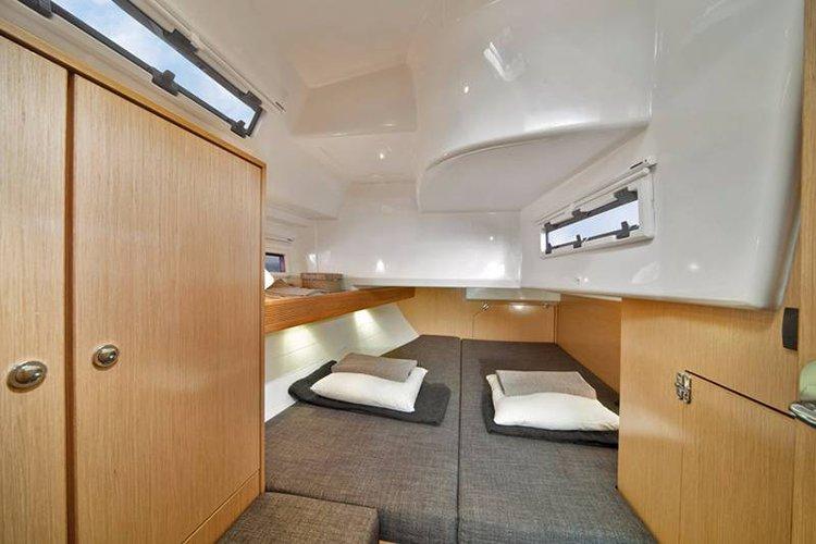 Discover Balearic Islands surroundings on this Bavaria Cruiser 40 Bavaria Yachtbau boat