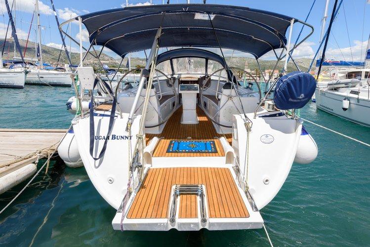 Explore Split region on this beautiful sailboat for rent