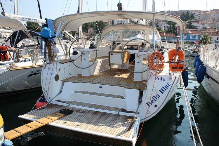 Experience Istra, HR on board this amazing Bavaria Yachtbau Bavaria Cruiser 45