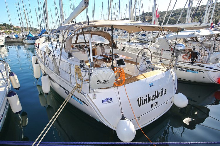 Rent this Bavaria Yachtbau Bavaria Cruiser 46 for a true nautical adventure