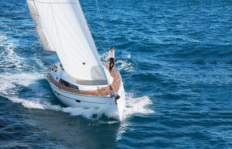 Take this Bavaria Yachtbau Bavaria Cruiser 46 for a spin!