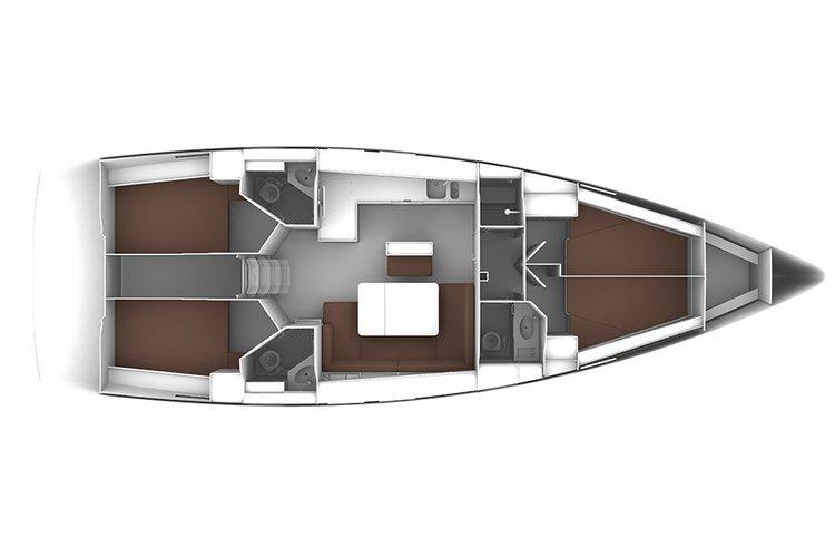 Boat for rent Bavaria Yachtbau 46.0 feet in Marina Hramina, Murter, Croatia