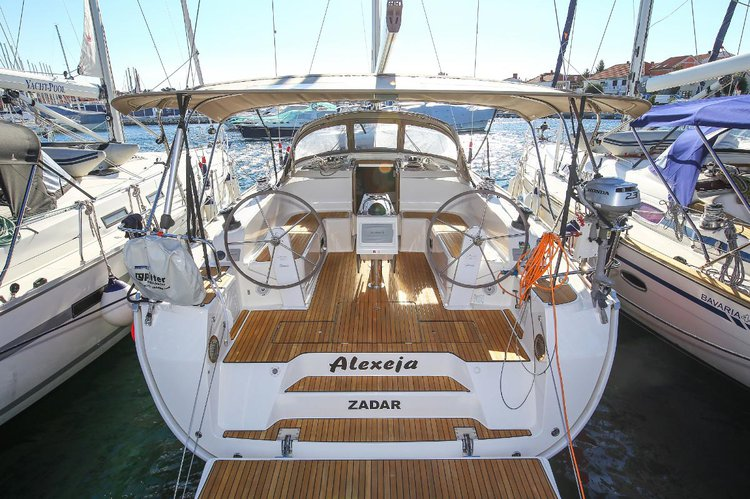 Sail the beautiful waters of Zadar region on this cozy Bavaria Yachtbau Bavaria Cruiser 46