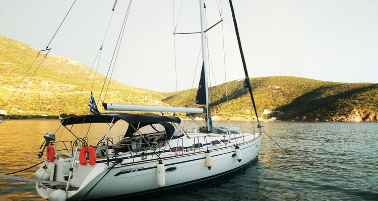 Experience Cyclades on board this elegant sailboat