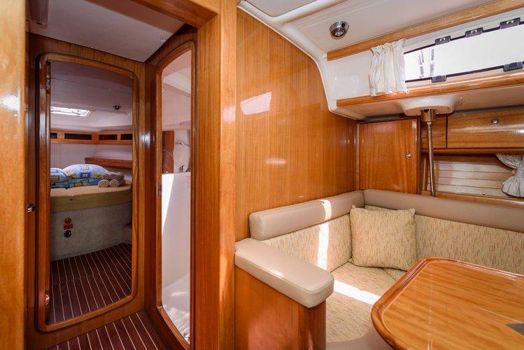 This 47.0' Bavaria Yachtbau cand take up to 8 passengers around Split region