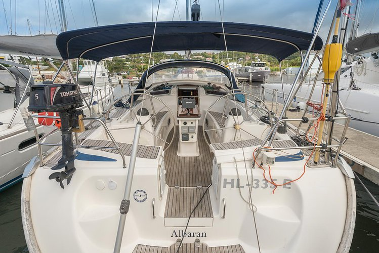 Relax on board our sailboat charter in St. Lucia