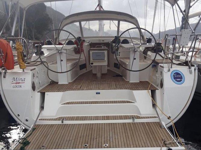 Rent this Bavaria Yachtbau Bavaria 50 Cruiser for a true nautical adventure