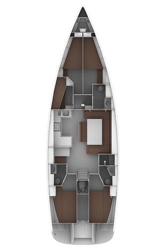 Bavaria Yachtbau's 51.0 feet in Šibenik region