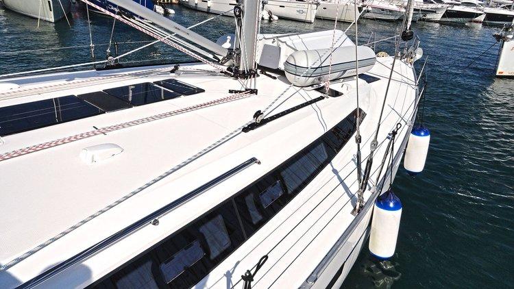 Discover Split region surroundings on this Bavaria Cruiser 51 Bavaria Yachtbau boat