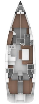 Boat for rent Bavaria Yachtbau 51.0 feet in Marina Sangulin, Biograd, Croatia