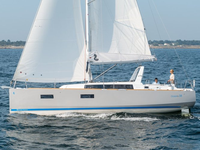 Explore Ayamonte on this beautiful sailboat for rent
