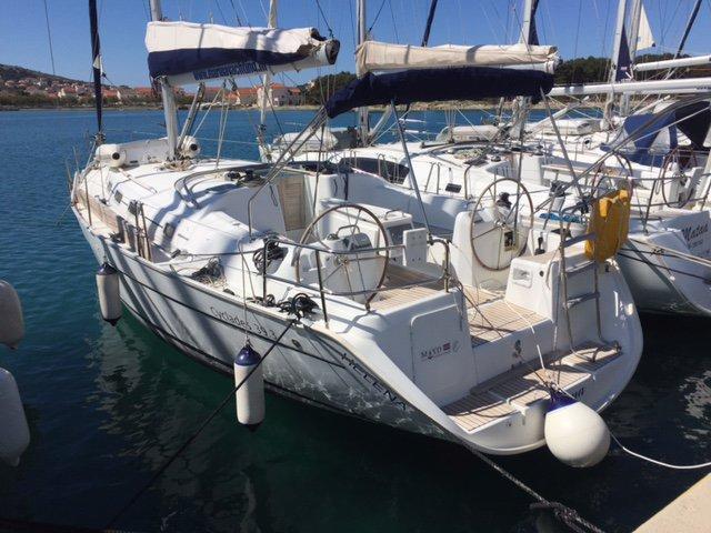 Sail Šibenik region, HR waters on a beautiful Bénéteau Cyclades 39.3