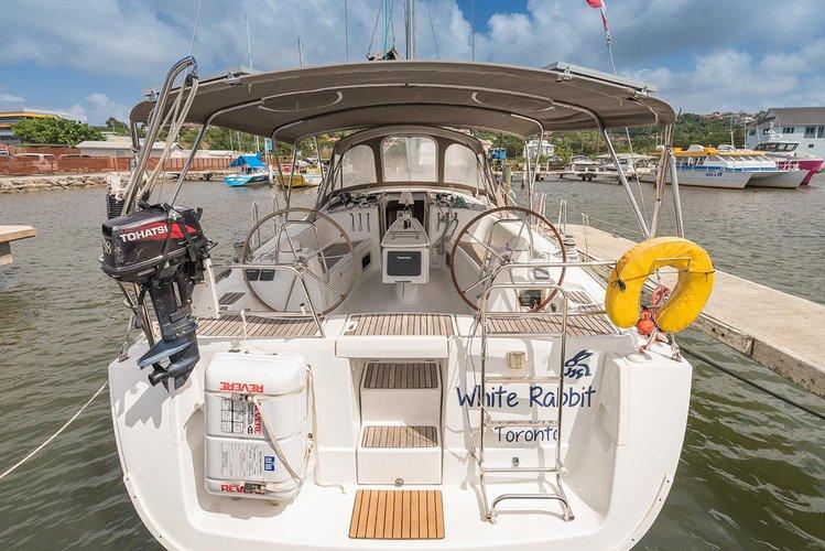 Rent this Bénéteau Oceanis 413 for a true nautical adventure