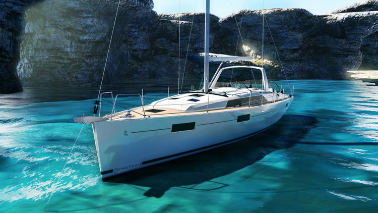 Bénéteau's 40.0 feet in Dubrovnik region