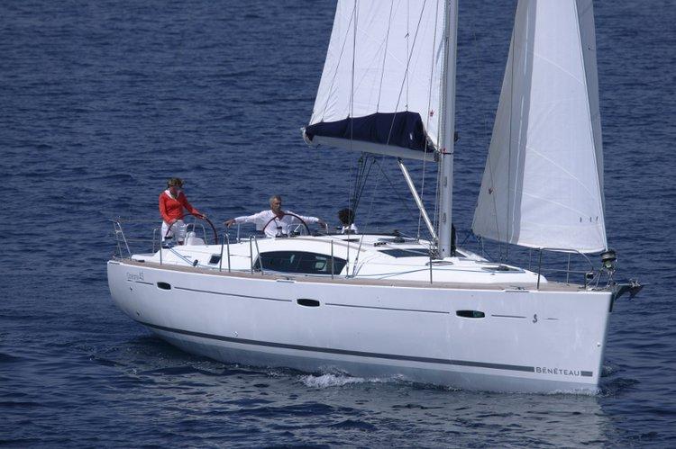 Sail Šibenik region, HR waters on a beautiful Bénéteau Oceanis 43