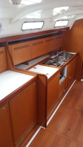 Beneteau boat for rent in Sicily