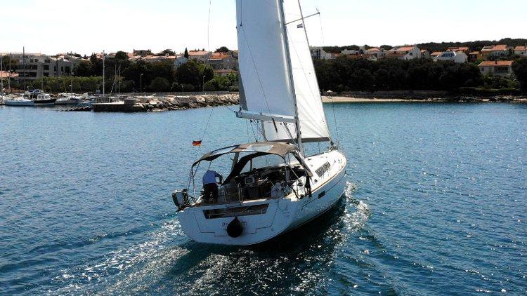 Bénéteau's 45.0 feet in Istra