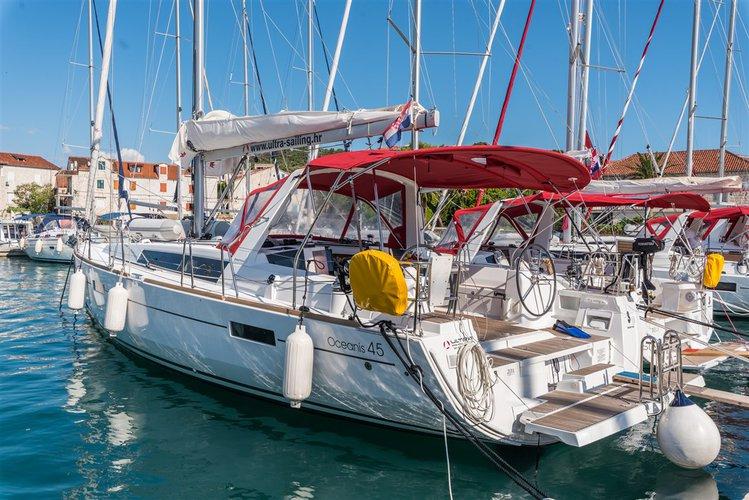 Bénéteau's 45.0 feet in Split region