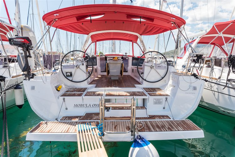 This sailboat charter is perfect to enjoy Split region