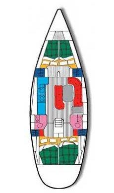 Discover Zadar region surroundings on this Oceanis Clipper 461 Bénéteau boat