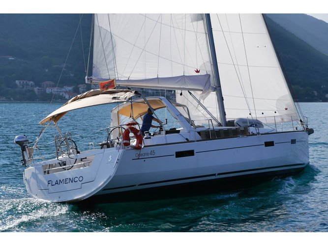Enjoy luxury and comfort on this Herceg Novi sailboat charter
