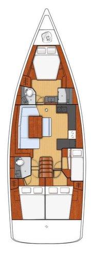 Boat for rent Bénéteau 47.0 feet in Marina Split - ACI , Croatia