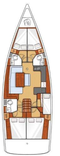 Enjoy Split region, HR to the fullest on our comfortable Bénéteau Oceanis 48