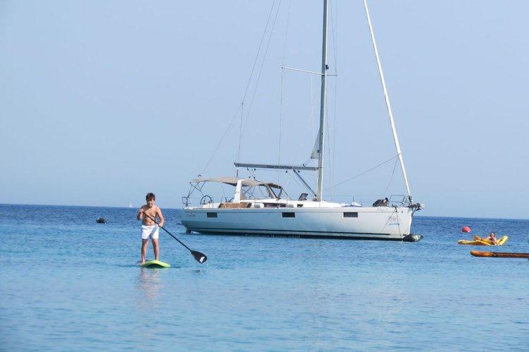 Enjoy luxury and comfort on this Bénéteau Oceanis 48 in Split region