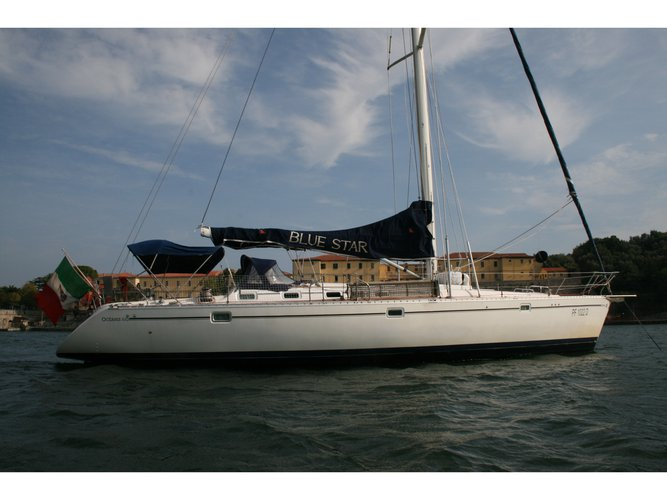 Climb aboard this Beneteau Oceanis 510 for an unforgettable experience