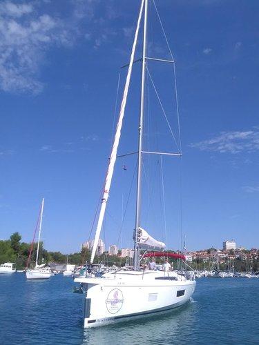 Bénéteau's 52.0 feet in Split region