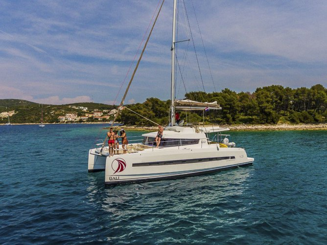 Get on the water and enjoy Split region in style on our Catana Bali 4.3
