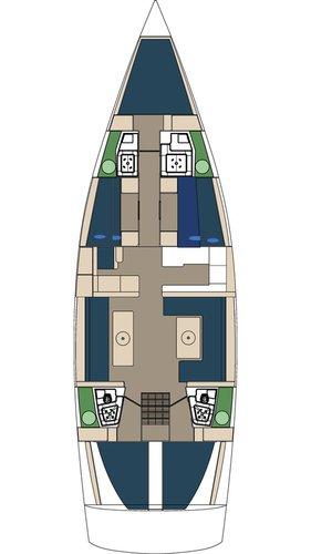 Discover Split region surroundings on this D&D Kufner 54 D&D Yacht boat