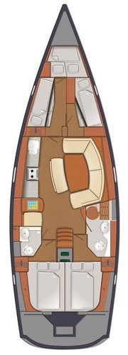 This 47.0' Delphia Yachts cand take up to 9 passengers around Zadar region