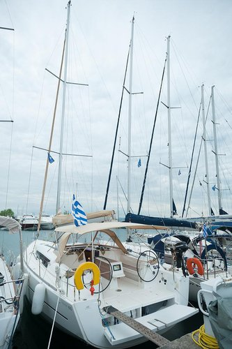 Enjoy Macedonia, GR to the fullest on our comfortable Dufour Yachts Dufour 410 GL