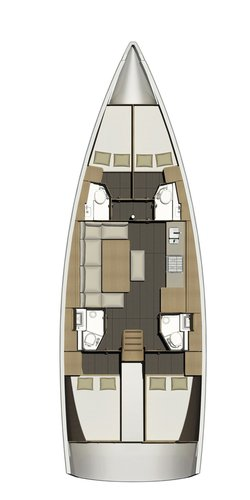 Boat for rent Dufour Yachts 46.0 feet in Marina Frapa, Rogoznica, Croatia