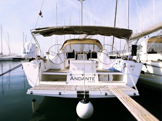 Take this Dufour Yachts Dufour 500 GL for a spin!