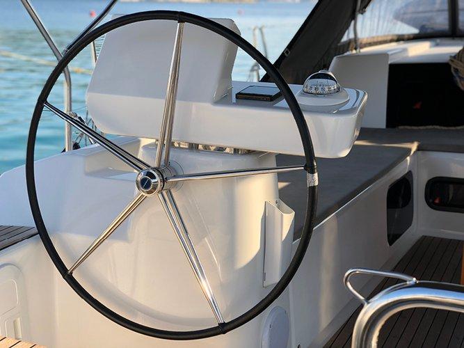 Discover Šibenik region surroundings on this Dufour 520 GL Dufour Yachts boat