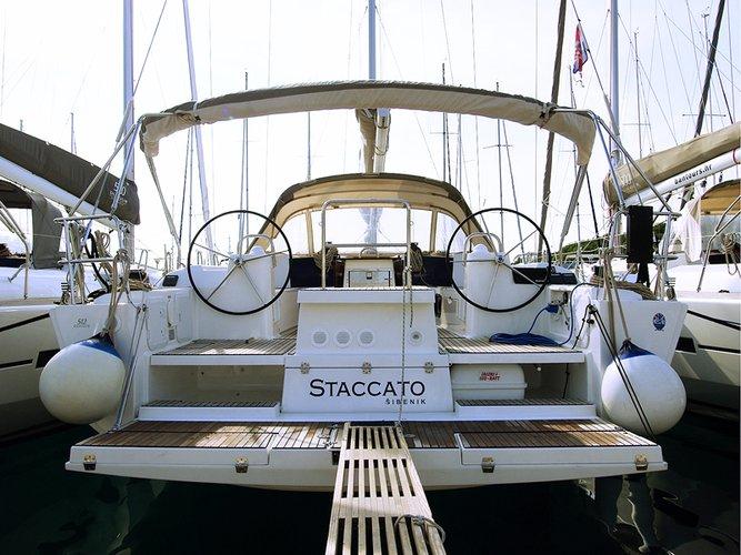 Experience Šibenik region, HR on board this amazing Dufour Yachts Dufour 512 GL