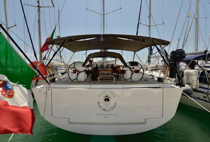 Rent this Dufour Yachts Dufour 520 GL for a true nautical adventure