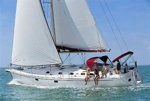 Relax on board our sailboat charter in Zadar region