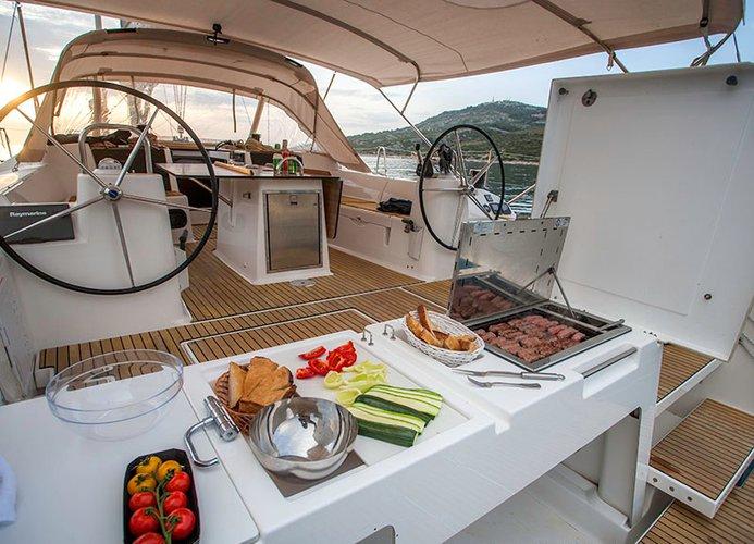 Discover Šibenik region surroundings on this Dufour 560 GL Dufour Yachts boat