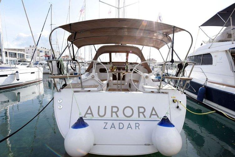 Discover Zadar region surroundings on this Elan Impression 35 Elan Marine boat