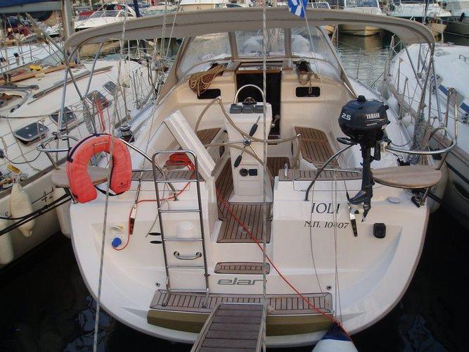Climb aboard this Elan Marine Elan 384 Impression for an unforgettable experience